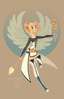Character Design - Virgo by MeoMai