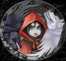 Blood Red Riding Hood by MissAnneThropee