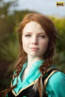 Anna - Frozen by Paper-Cube
