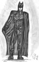 Batman drawing 2 by RomanEdge