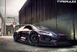 HONDA CR-Z BLACK-PURPLE by typerulez