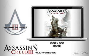 Assassin's Creed 3 Cover Art Wallpaper by tazerguy