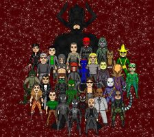 Marvel Villians by Winter-Phantom