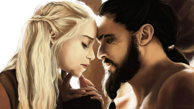 The Khal and the Khaleesi by MkFlrs