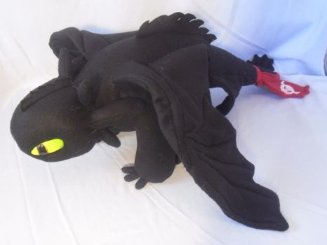 Toothless Plushie by Neo-Creations