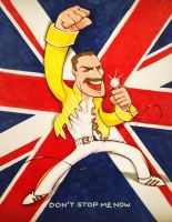 Happy Birthday Freddie by gelipe