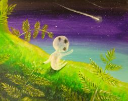 Stargazing Kodama by Temporalvisions