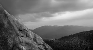 Mt Ampersand bw by philipbrunner