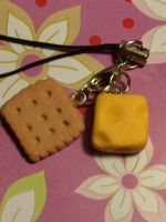 Cheese and Crackers by WISH4000