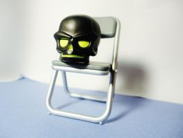Waiting Room - Skull Head by Odessa-Himijo