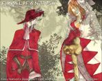 White and Red mage by Resosphere