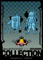 monsterism toy series 01 by iamcadence