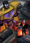 Con Poster- Swindle and Destro by MachSabre
