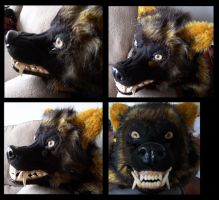 Werewolf Head - Complete by Bailiwick