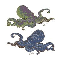 Holy Chromatophorous Cephalopods by KreepingSpawn