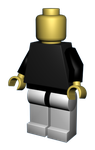 Lego dude by lionlancer