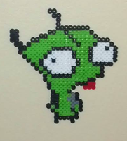 Gir from Invader Zim by Gears-of-Heaven