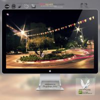 .TREE'S SQUARE. Wallpaper by enemia