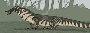 You've got a case of.... Megalania. by Kazanlak10