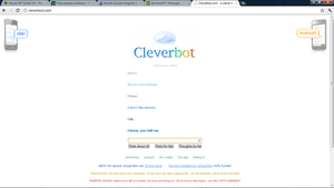 Cleverbot .. by PokemonBWishesCilan