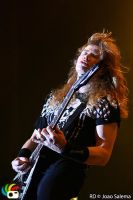 Dave Mustaine - Megadeth by cer3al