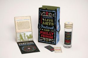Packaging for Philly Festivals by ghostonthestage
