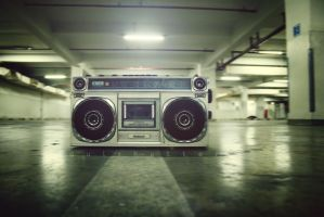 . boom box . by ajiceria
