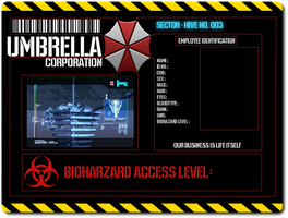Umbrella Corp ID Card by bellamy94