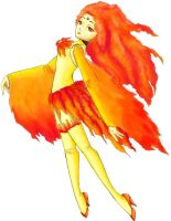Sailor Moltres by Clinkorz