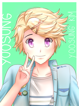Yoosung Kim by Mildemme