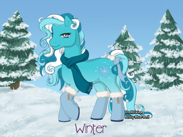 Winter - open by FoxxyBatmanAdopts