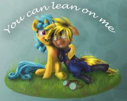 Request - You Can lean on Me by Helmie-D