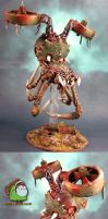 Chaos Helldrake of Nurgle by HomeOfCadaver