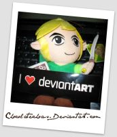 Link loves Deviantart by ChocolateChaos
