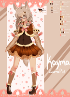 Kayma Llama Pup Fursona/Persona FINAL by 0GameGirlArtistNerd0