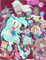 All of teh characters by MagicalPouchOfMagic