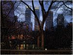 Central Park Dusk by steeber