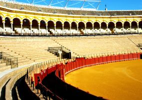 Seville Bull Fight Festival 04 by abelamario