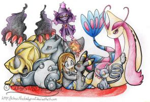 macey-grey pkmn team commish by mmishee