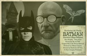 Batman Guillermo Del Toro by Hartter