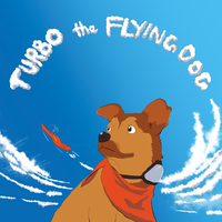 Commission- Turbo the Flying Dog Cover by Anhyvar