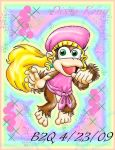 Dixie Kong by Bowser2Queen