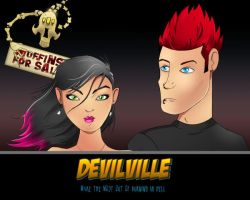 DevilVille Wallpaper by uberdiablo-pixels
