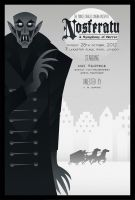 Nosferatu  poster (FOR SALE) by rodolforever