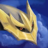 Giratina Headshot Speedpaint by UmbreoNoctie