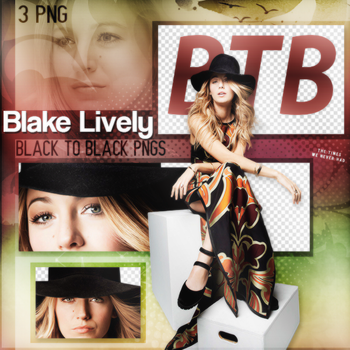 PNG Pack(377) Blake Lively by BeautyForeverr