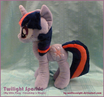 Twilight Sparkle Plush v.3 by Wolflessnight