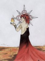 Axel: God of Fire by ShiningamiMaxwell