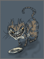 October the Cheshire Cat by Velexane