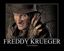 Freddy Krueger: Sweet Dreams by boneville64